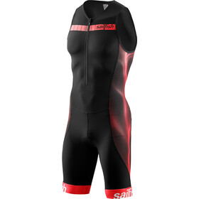 sailfish Comp Triathlon-puku Miehet, black/red